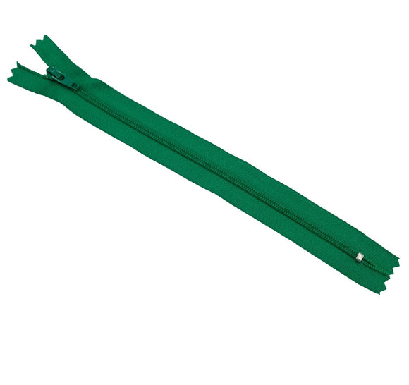 YKK Nylon Zipper 8 inches (Emerald Green)