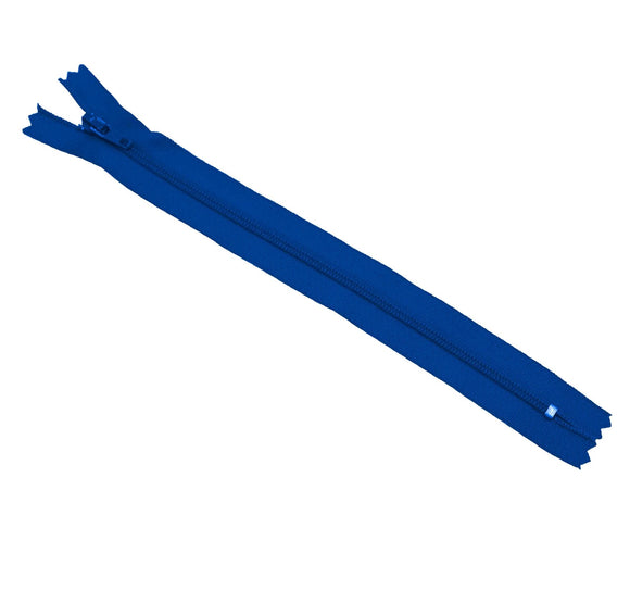 YKK Nylon Zipper 8 inches (Royal Blue)
