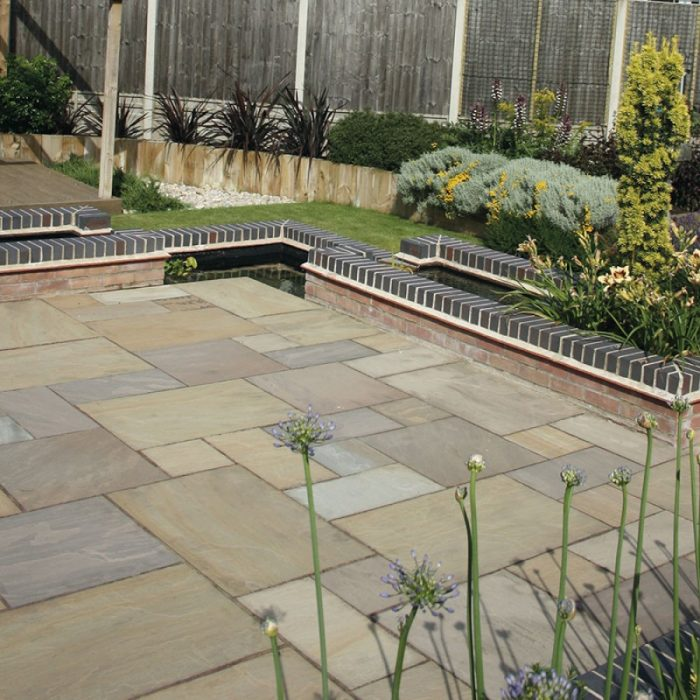raj green sandstone paving £26.50