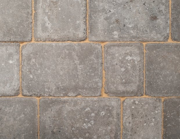Charcoal Rumbled Block Paving