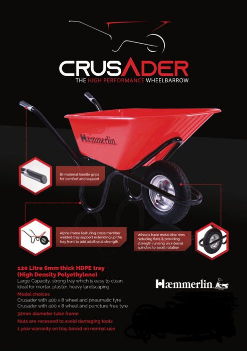 wheel barrow (crusader)