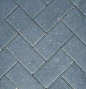 50mm charcoal pavers £14.50mtr)