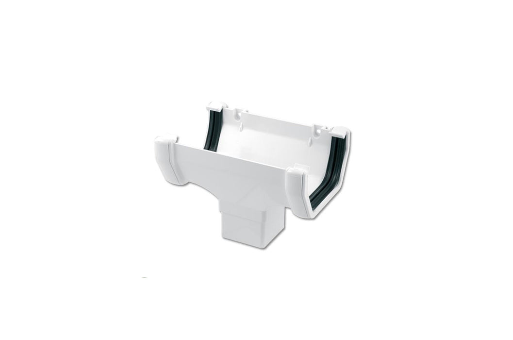 Gutter - White Square Running Outlet