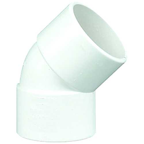 Solvent waste pipe 135degree bend 40mm off set