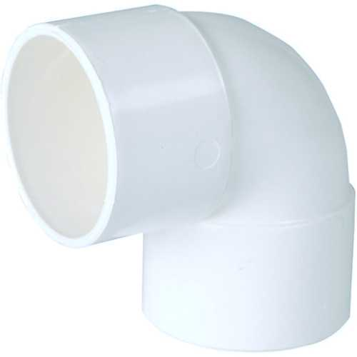 Solvent waste pipe 90degree bend 40mm