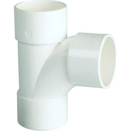 Solvent waste pipe T piece 40mm