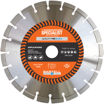 "12"" 300mm st-xl specialist diamond blade"