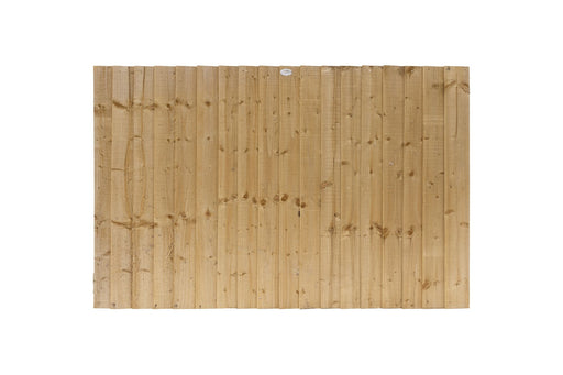 Feather Edge Fencing Panel 6ft x 4ft