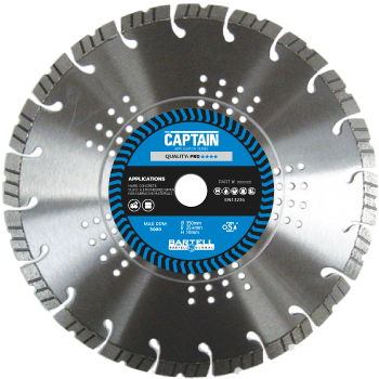"230mm  (9"") captain diamond blade"