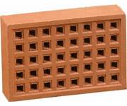 clay air brick 9x6""
