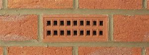 clay air brick 9x3""