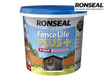 Ronseal One Coat Fence Life+ CHARCOAL GREY