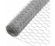galv wire netting 600 x 50 x 1.0 10mtr