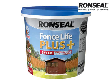Ronseal One Coat Fence Life+ COUNTRY OAK