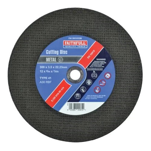 CUTTING DISC (METAL) 12""