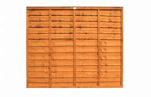 fencing panel over lap 6ft x 5ft