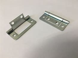 BZP flush hinge 60mm