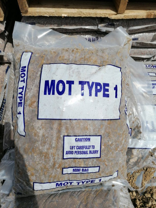 m.o.t type 1 (25kg bags)