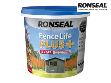 Ronseal One Coat Fence Life+ SLATE