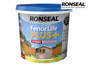 Ronseal One Coat Fence Life+ WARM STONE