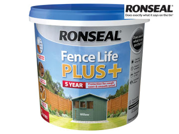 Ronseal One Coat Fence Life+ WILLOW