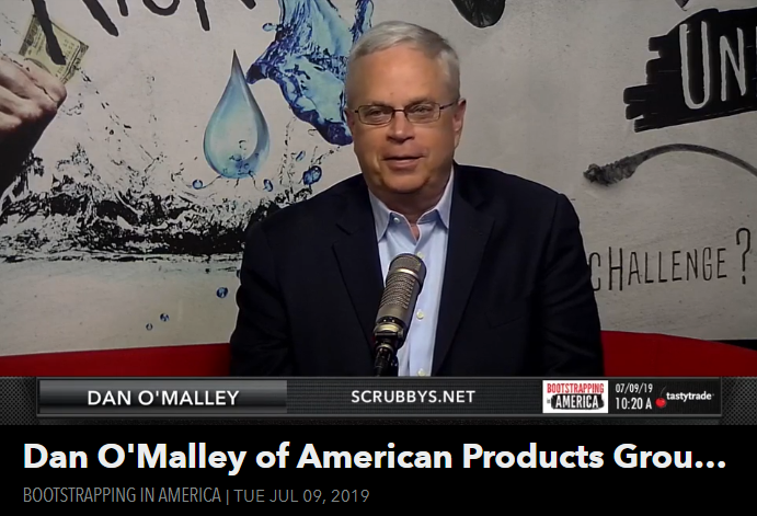 Dan O'Malley of American Products Group Featured on Bootstrapping in America