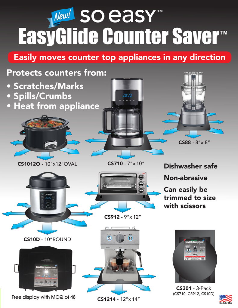 EasyGlide Counter Saver