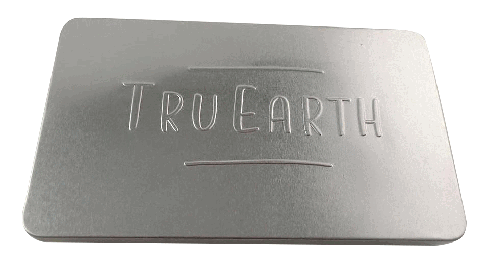 TRU Earth Premium Laundry Strip Storage Tin