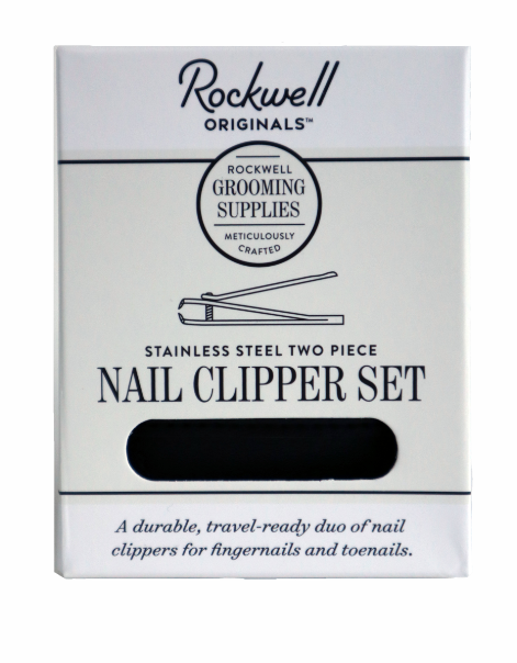 Rockwell Stainless Steel Nail Clipper Set