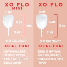 Load image into Gallery viewer, XO Flo Menstrual Cup