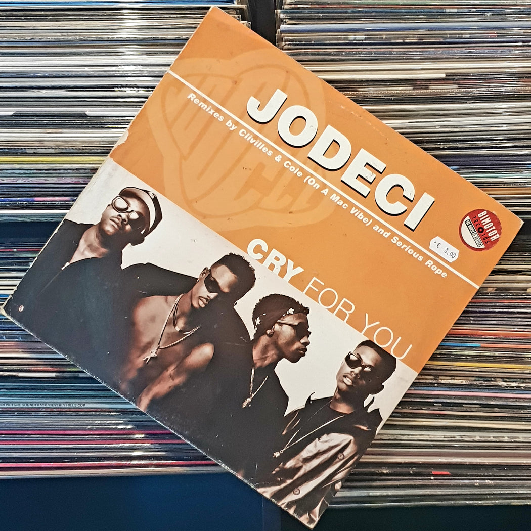 "Jodeci: Cry For You (Vinyl 12"")"