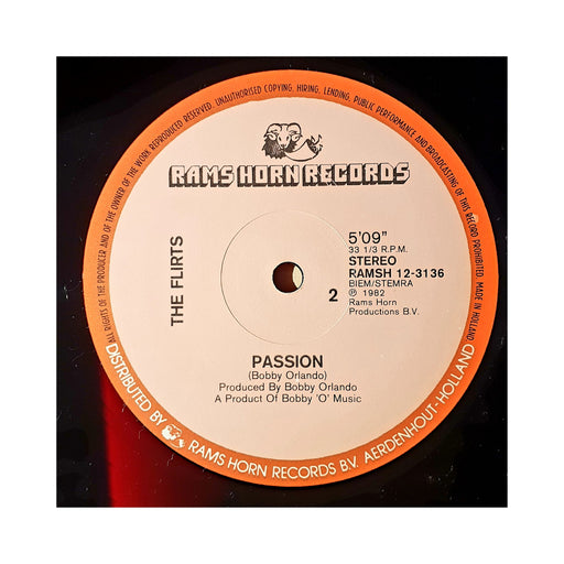 "The Flirts: Passion (Vinyl 12"") 