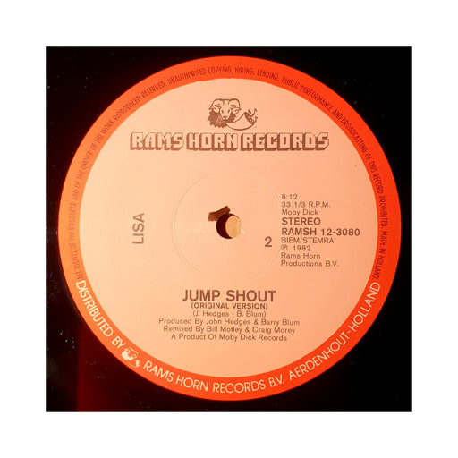 "Lisa: Jump Shout (Vinyl 12"") 