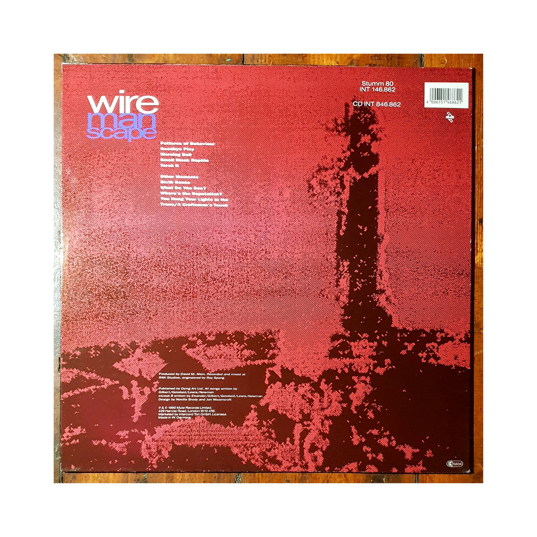 Wire: Manscape (Vinyl LP) | Vinyl Record