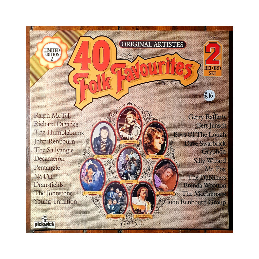 Various Artists: 40 Folk Favourites (Vinyl LP) | Vinyl Record
