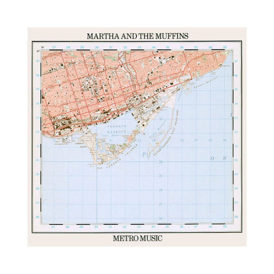 Martha And The Muffins: Metro Music (Vinyl LP) | Vinyl Record