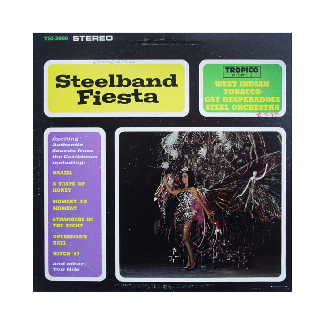 West Indian Tobacco Gay Desperadoes Steel Orchestra: Steelband Fiesta (Vinyl LP) | Vinyl Record
