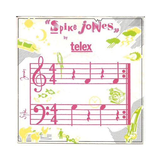 "Telex: Spike Jones (Special Remix) (Vinyl 12"") 