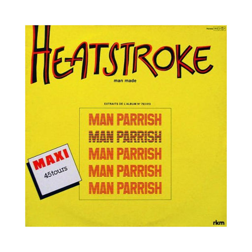 "Man Parrish: Heatstroke (Vinyl 12"") 