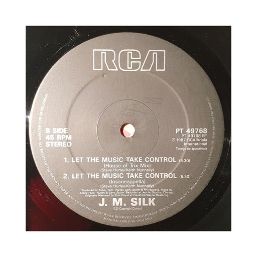 "JM Silk: Let The Music Take Control (Vinyl 12"") 