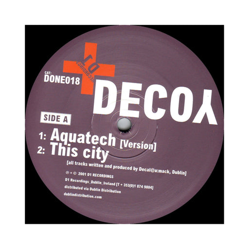 Decoy: This City Has Lost Its Way | Vinyl Record