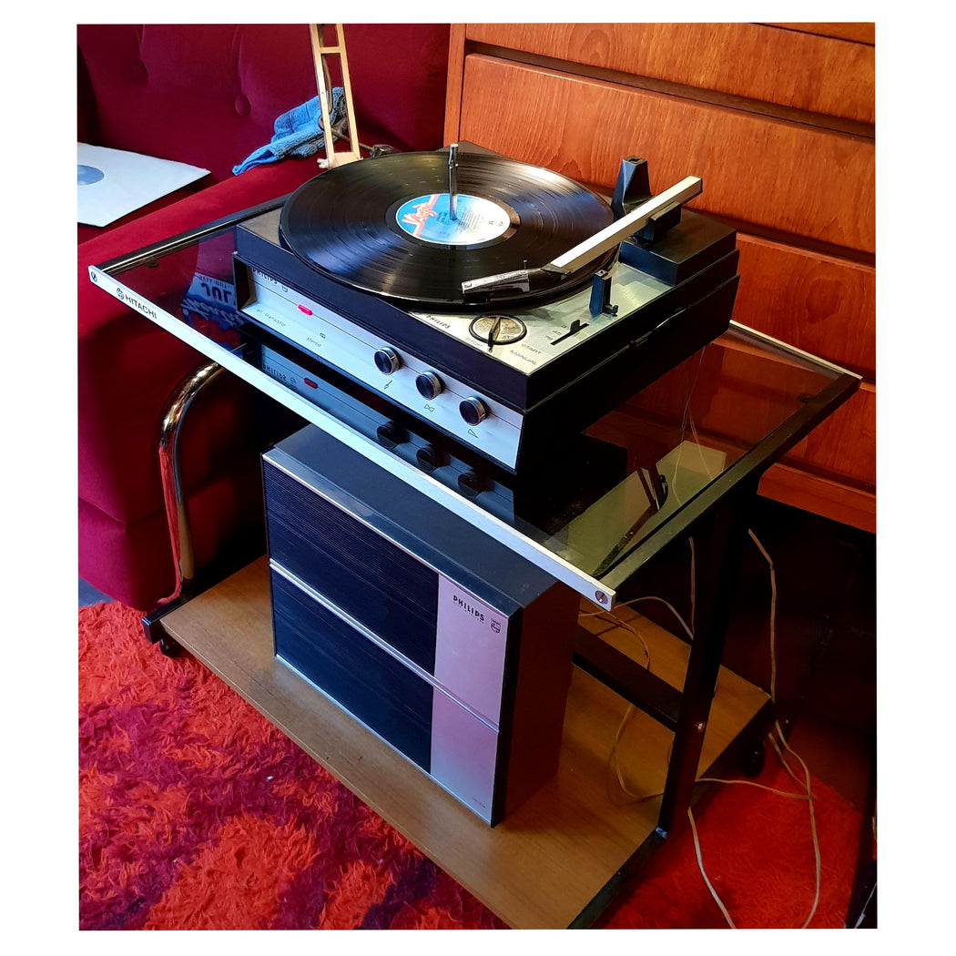 Philips Suitcase Record Player