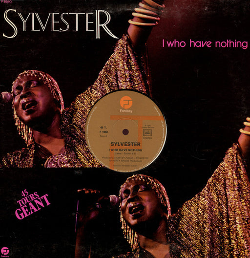 Vinyl Records | Vinyl Cleaning Dublin | Global Shipping |  Sylvester |  I Who Have Nothing