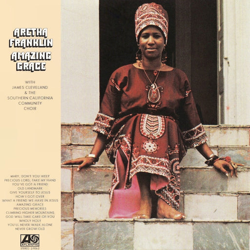 Aretha Franklin: Amazing Grace (Vinyl LP) | Optic Music | Buy Vinyl Online