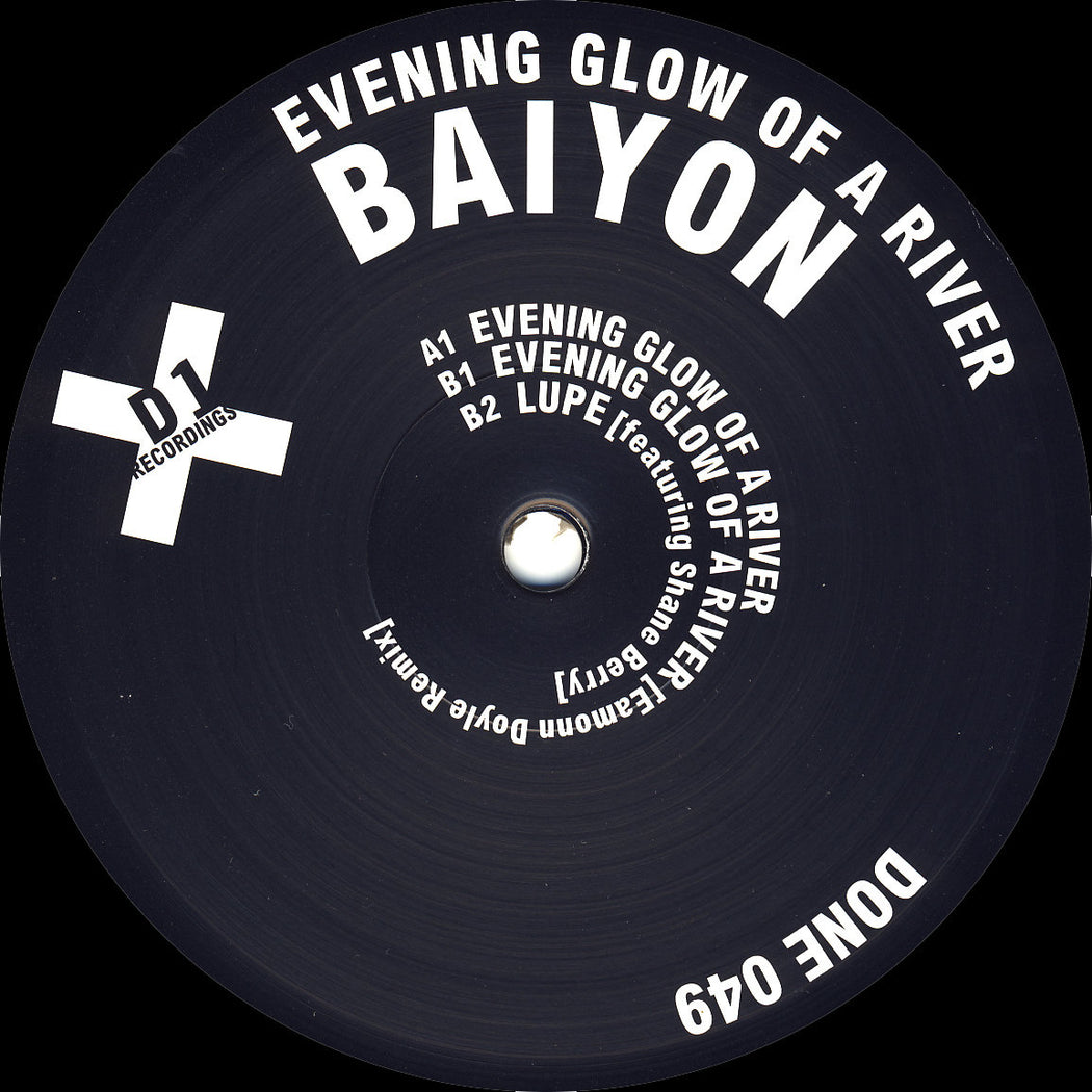 "Baiyon: Evening Glow Of A River (Vinyl 12"") 