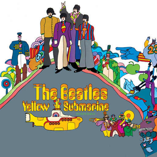 The Beatles: Yellow Submarine (Vinyl LP) | Optic Music | Vinyl Records | Dublin Vinyl