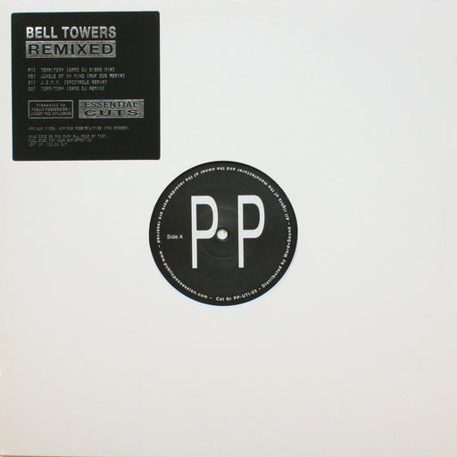 "Bell Towers: Territory Remix EP (Vinyl 12"") 