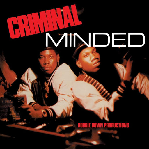 Boogie Down Productions: Criminal Minded (Vinyl LP) | Optic Music | Buy Vinyl Online