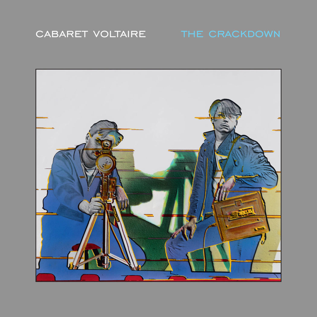 Cabaret Voltaire: The Crackdown (Vinyl LP) | Optic Music | Buy Vinyl Online