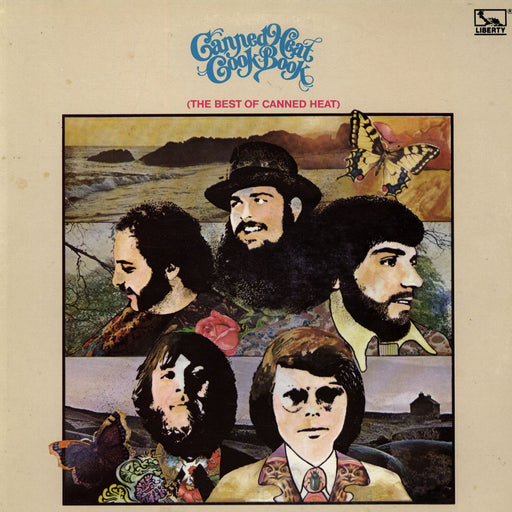 Canned Heat: The Canned Heat Cookbook (Vinyl LP) | Optic Music | Vinyl Records | Dublin Vinyl